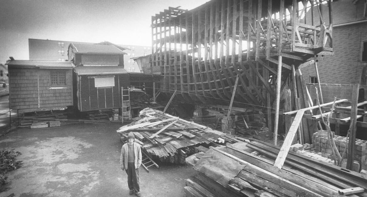 Kea's Ark Building Yard
